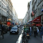 Paris, rue du Faubourg Saint-Denis