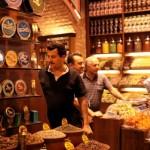 Istanbul Grand Bazar caviar et épices