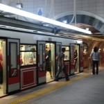 Istanbul Tünel, funiculaire (Galata Péra)