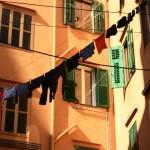 Trieste Linge au balcon