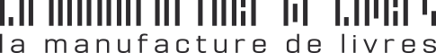 Logo Manufacture de livres noir