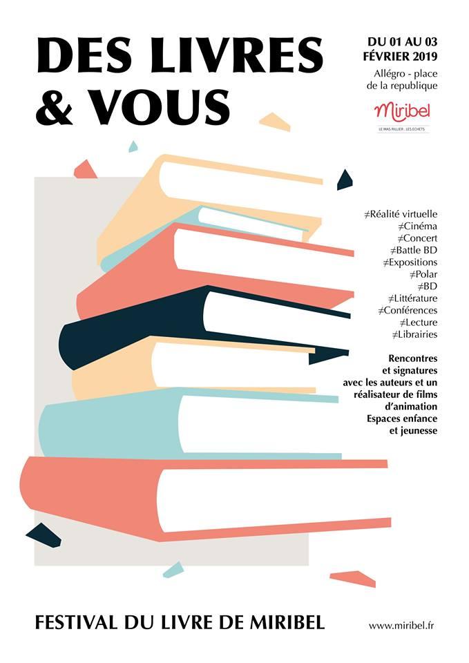 Affiche de l'événement Des livres et vous