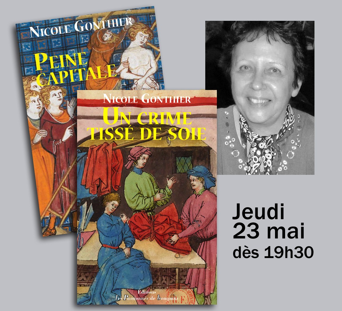 Nicole Gonthier & ses polars médiévaux