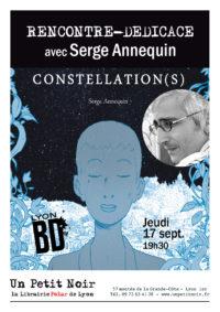 Rencontre – dédicace Serge Annequin