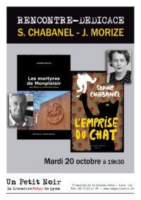 Sophie Chabanel & Jacques Morize en dédicace